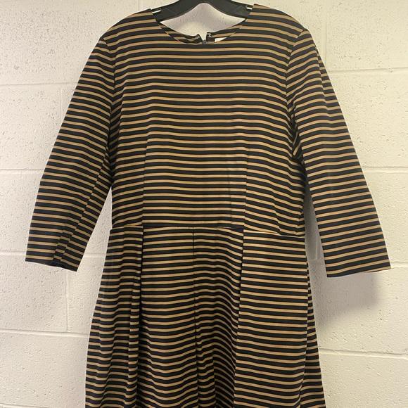 Gap Stripe Skater Dress